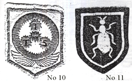 Identification nos. 10 and 11